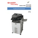 Sharp MX-2614N, MX-3114N (serv.man4) Handy Guide