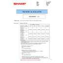Sharp MX-2614N, MX-3114N (serv.man48) Technical Bulletin