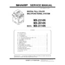 Sharp MX-2614N, MX-3114N (serv.man7) Service Manual