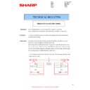 Sharp MX-2614N, MX-3114N (serv.man73) Technical Bulletin