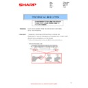Sharp MX-2614N, MX-3114N (serv.man76) Technical Bulletin