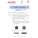 Sharp MX-2614N, MX-3114N (serv.man86) Technical Bulletin
