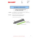 Sharp MX-2614N, MX-3114N (serv.man94) Technical Bulletin