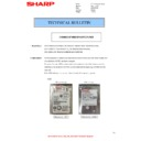 Sharp MX-2614N, MX-3114N (serv.man99) Technical Bulletin