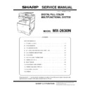 Sharp MX-2630 (serv.man2) Service Manual