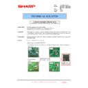 Sharp MX-4100N, MX-4101N, MX-5000N, MX-5001N (serv.man102) Technical Bulletin
