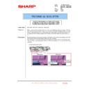 Sharp MX-4100N, MX-4101N, MX-5000N, MX-5001N (serv.man103) Technical Bulletin