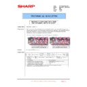 Sharp MX-4100N, MX-4101N, MX-5000N, MX-5001N (serv.man104) Technical Bulletin