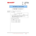 Sharp MX-4100N, MX-4101N, MX-5000N, MX-5001N (serv.man106) Technical Bulletin