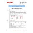 Sharp MX-4100N, MX-4101N, MX-5000N, MX-5001N (serv.man107) Technical Bulletin