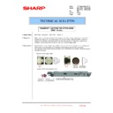 Sharp MX-4100N, MX-4101N, MX-5000N, MX-5001N (serv.man109) Technical Bulletin