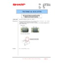 Sharp MX-4100N, MX-4101N, MX-5000N, MX-5001N (serv.man110) Technical Bulletin
