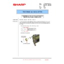 Sharp MX-4100N, MX-4101N, MX-5000N, MX-5001N (serv.man111) Technical Bulletin