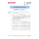 Sharp MX-4100N, MX-4101N, MX-5000N, MX-5001N (serv.man112) Technical Bulletin