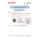 Sharp MX-4100N, MX-4101N, MX-5000N, MX-5001N (serv.man113) Technical Bulletin