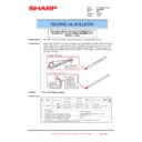 Sharp MX-4100N, MX-4101N, MX-5000N, MX-5001N (serv.man115) Technical Bulletin