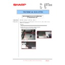 Sharp MX-4100N, MX-4101N, MX-5000N, MX-5001N (serv.man116) Technical Bulletin