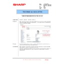 Sharp MX-4100N, MX-4101N, MX-5000N, MX-5001N (serv.man117) Technical Bulletin