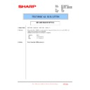 Sharp MX-4100N, MX-4101N, MX-5000N, MX-5001N (serv.man119) Technical Bulletin
