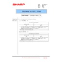 Sharp MX-4100N, MX-4101N, MX-5000N, MX-5001N (serv.man120) Technical Bulletin