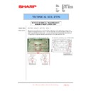 Sharp MX-4100N, MX-4101N, MX-5000N, MX-5001N (serv.man121) Technical Bulletin
