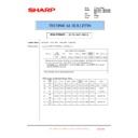 Sharp MX-4100N, MX-4101N, MX-5000N, MX-5001N (serv.man122) Technical Bulletin