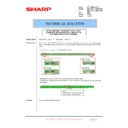 Sharp MX-4100N, MX-4101N, MX-5000N, MX-5001N (serv.man123) Technical Bulletin
