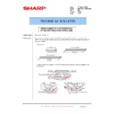Sharp MX-4100N, MX-4101N, MX-5000N, MX-5001N (serv.man124) Technical Bulletin