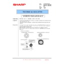 Sharp MX-4100N, MX-4101N, MX-5000N, MX-5001N (serv.man126) Technical Bulletin