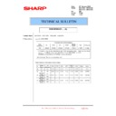 Sharp MX-4100N, MX-4101N, MX-5000N, MX-5001N (serv.man127) Technical Bulletin
