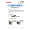 Sharp MX-4100N, MX-4101N, MX-5000N, MX-5001N (serv.man129) Technical Bulletin