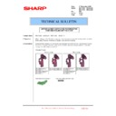 Sharp MX-4100N, MX-4101N, MX-5000N, MX-5001N (serv.man130) Technical Bulletin
