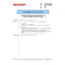 Sharp MX-4100N, MX-4101N, MX-5000N, MX-5001N (serv.man131) Technical Bulletin