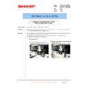 Sharp MX-4100N, MX-4101N, MX-5000N, MX-5001N (serv.man135) Technical Bulletin