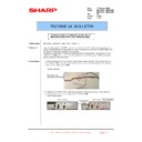 Sharp MX-4100N, MX-4101N, MX-5000N, MX-5001N (serv.man138) Technical Bulletin