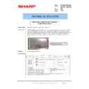 Sharp MX-4100N, MX-4101N, MX-5000N, MX-5001N (serv.man140) Technical Bulletin
