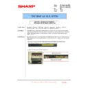 Sharp MX-4100N, MX-4101N, MX-5000N, MX-5001N (serv.man142) Technical Bulletin