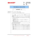 Sharp MX-4100N, MX-4101N, MX-5000N, MX-5001N (serv.man143) Technical Bulletin