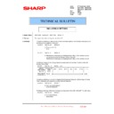 Sharp MX-4100N, MX-4101N, MX-5000N, MX-5001N (serv.man144) Technical Bulletin