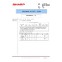 Sharp MX-4100N, MX-4101N, MX-5000N, MX-5001N (serv.man147) Technical Bulletin
