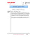 Sharp MX-4100N, MX-4101N, MX-5000N, MX-5001N (serv.man152) Technical Bulletin