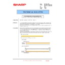 Sharp MX-4100N, MX-4101N, MX-5000N, MX-5001N (serv.man155) Technical Bulletin