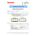 Sharp MX-4100N, MX-4101N, MX-5000N, MX-5001N (serv.man157) Technical Bulletin