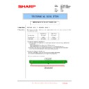 Sharp MX-4100N, MX-4101N, MX-5000N, MX-5001N (serv.man158) Technical Bulletin