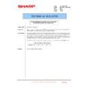 Sharp MX-4100N, MX-4101N, MX-5000N, MX-5001N (serv.man159) Technical Bulletin