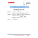 Sharp MX-4100N, MX-4101N, MX-5000N, MX-5001N (serv.man161) Technical Bulletin