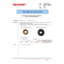 Sharp MX-4100N, MX-4101N, MX-5000N, MX-5001N (serv.man163) Technical Bulletin