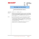 Sharp MX-4100N, MX-4101N, MX-5000N, MX-5001N (serv.man164) Technical Bulletin