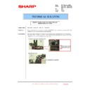 Sharp MX-4100N, MX-4101N, MX-5000N, MX-5001N (serv.man165) Technical Bulletin