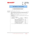 Sharp MX-4100N, MX-4101N, MX-5000N, MX-5001N (serv.man166) Technical Bulletin